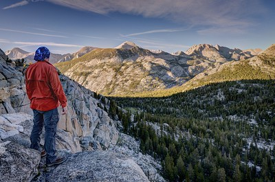 Checking Things Out From Above (Mount Higard in the Distance)