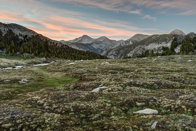 Sunset From Rosemarie Meadow