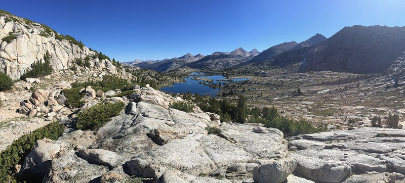 Marie Lakes From Selden Pass