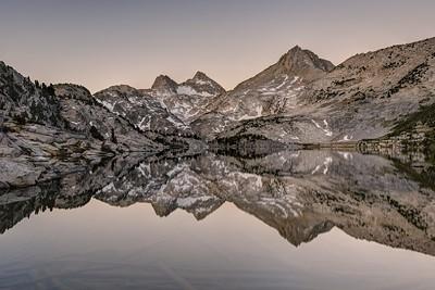 Mount Hooper Reflection in Rose Lake (morning)