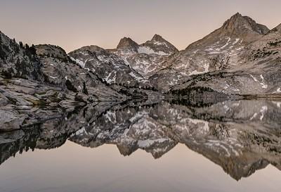 Reflections in Rose Lake (morning)