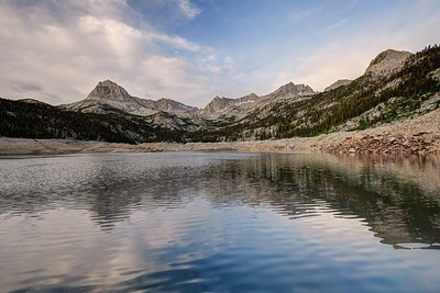 South Lake and the Sierra Crest