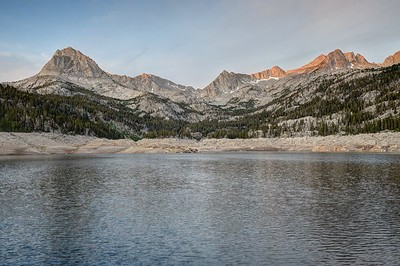 Hurd Peak and the Sierra Crest From South Lake