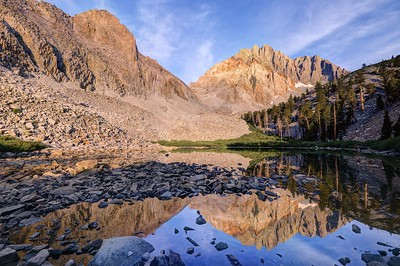 !4,000' Split Mountain and Lower Red Lake