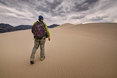Stormy Afternoon Walk (Eureka Dunes)