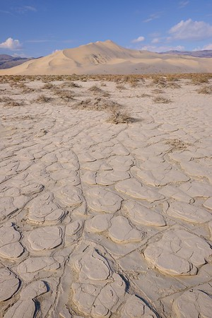 Dry Bed and Eureka Dunes