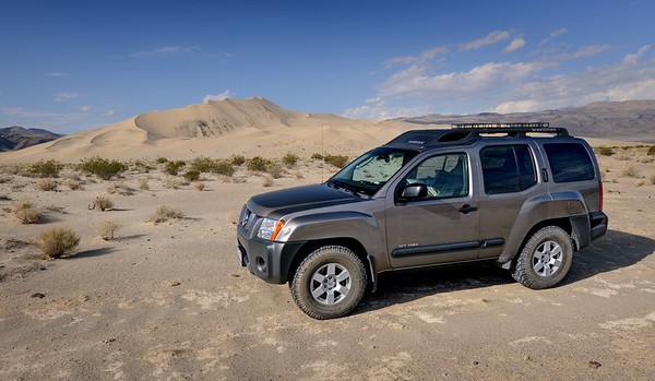 Xterra and Eureka Dunes