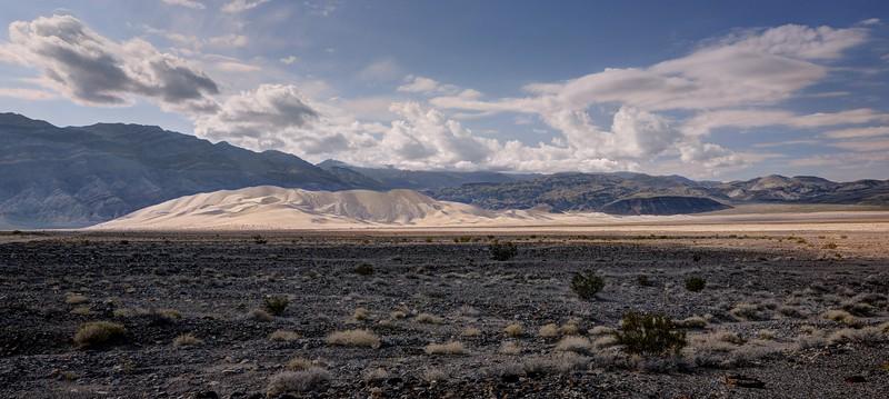 Eureka Dunes Panarama