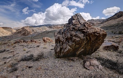 Large Boulder in Last Chance Canyon