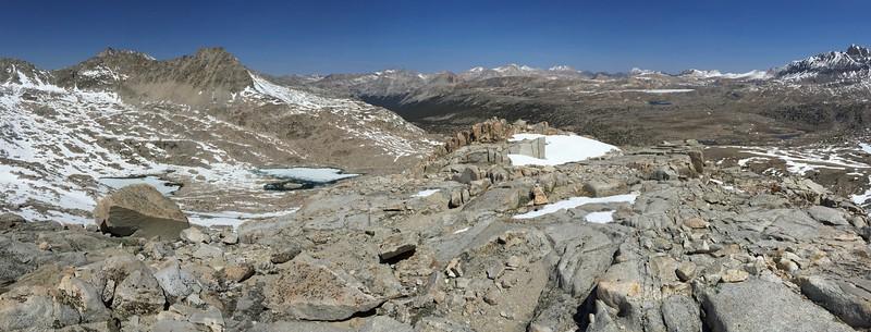 Panorama From the Summit of Peak 12,240'