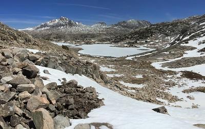 Muriel Lake and Mount Humphreys