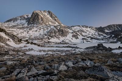 Muriel Peak and Lake