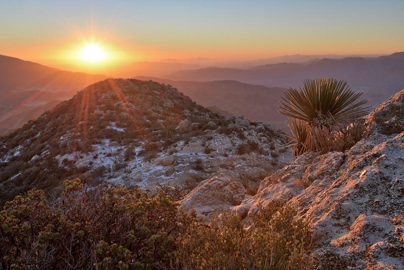Granite Mountain Autumn Sunrise