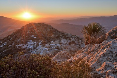 Granite Mountain Autumn Sunrise
