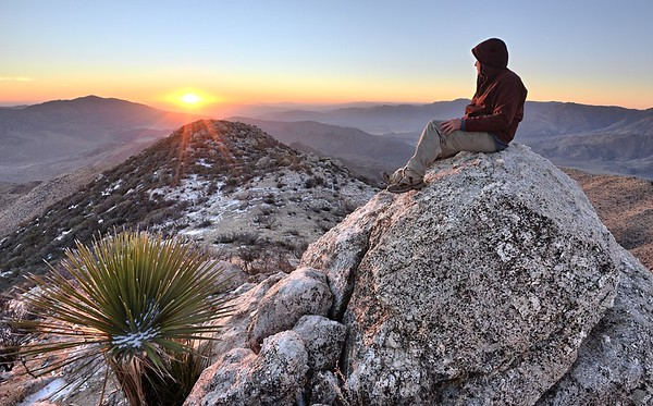 Near the Summit of Granite Mountain
