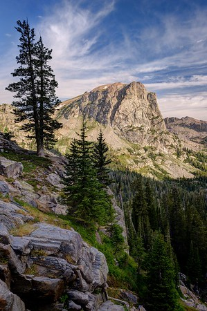 Table Mountain from Upper Cascade Canyon