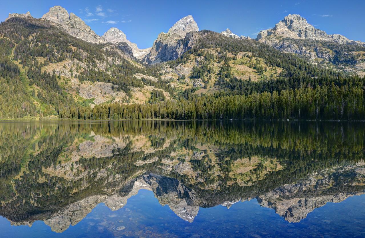 Bradley Lake and the Grand Tetons