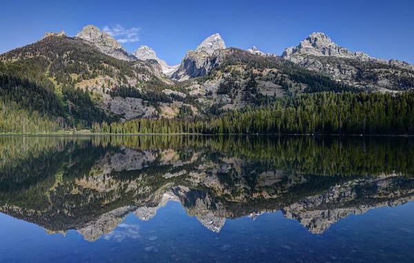 Morning Reflections in Bradley Lake