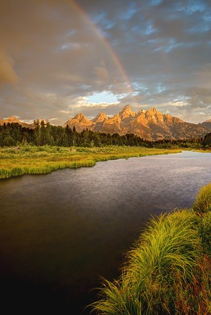 Snake River and the Tetons