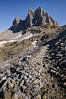Buck Peak Near the Alaska Basin