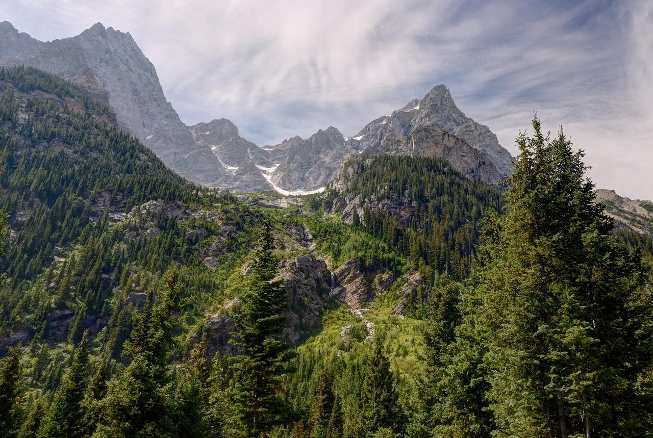 A Look Above Cascade Canyon