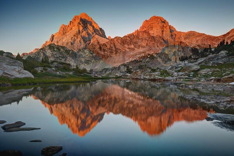 Evening Teton Reflections