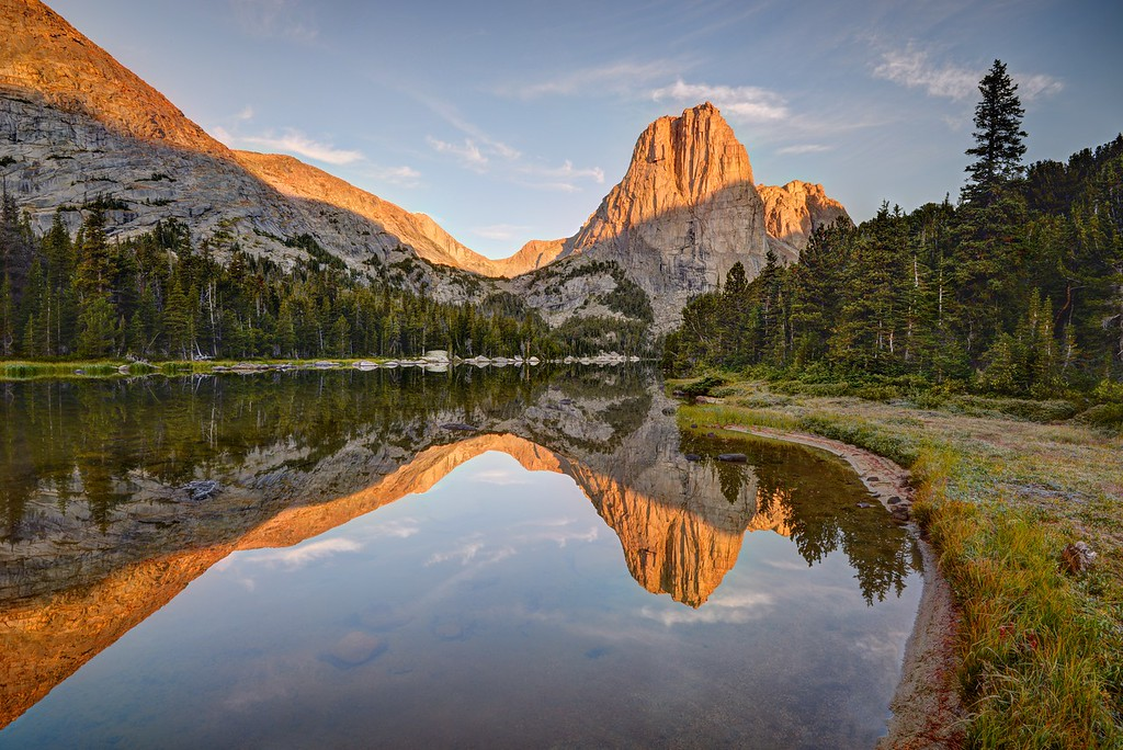 Upper Cathedral Lake Reflection (morning)
