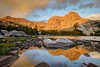 High Meadow Lake and Windy Peak Sunrise
