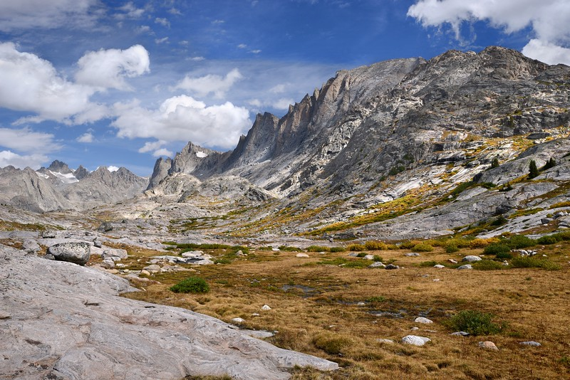 Fremont Peak from the Titcomb Basin