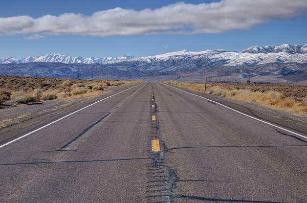 State Highway 6 and the Eastern Sierra Nevada