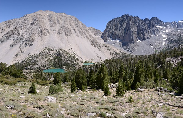 Temple Crag With First and Second Lakes