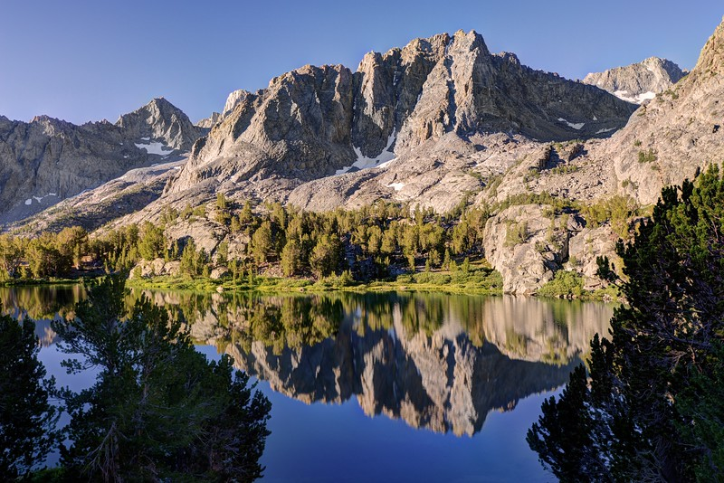 Mount Robinson Reflected in Sixth Lake
