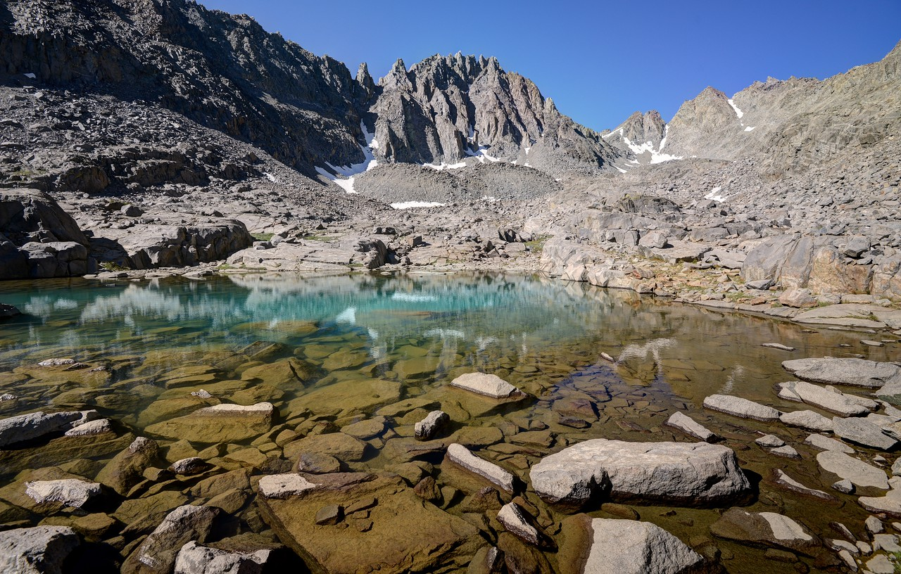 Payne Lake and Gendarme Peak