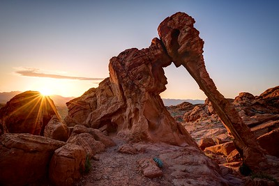 Elephant Rock Sunrise