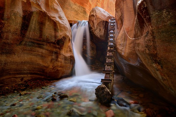 Kanarra Creek Canyon Falls