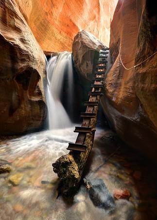 Kanarra Creek Canyon Falls