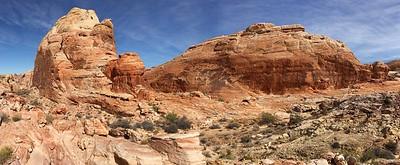 Panorama Behind White Rock