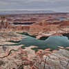 Lake Powell from Alstrom Point