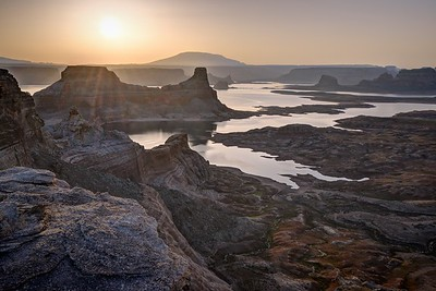 Sunrise Over Gunsight Butte