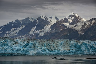 Hubbard Glacier and the Massive Mountains of the Southern Wrangell-St. Elias Range