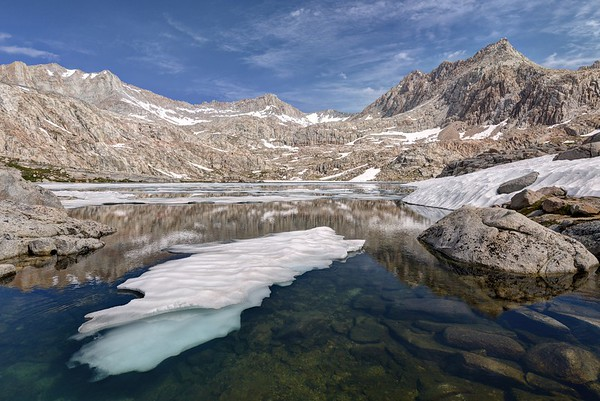 Sky Blue Lake and Mount McAdie