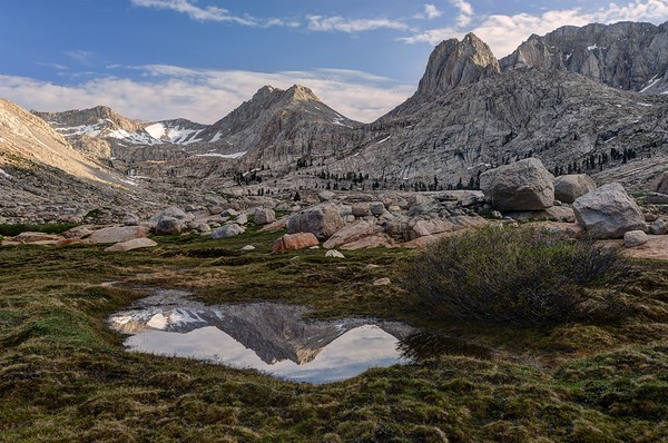 Mount McAdie Reflected in a Tarn