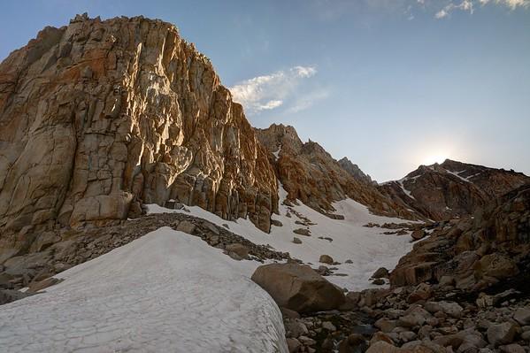 Joe Devil Peak Along the Route to Erin Lake