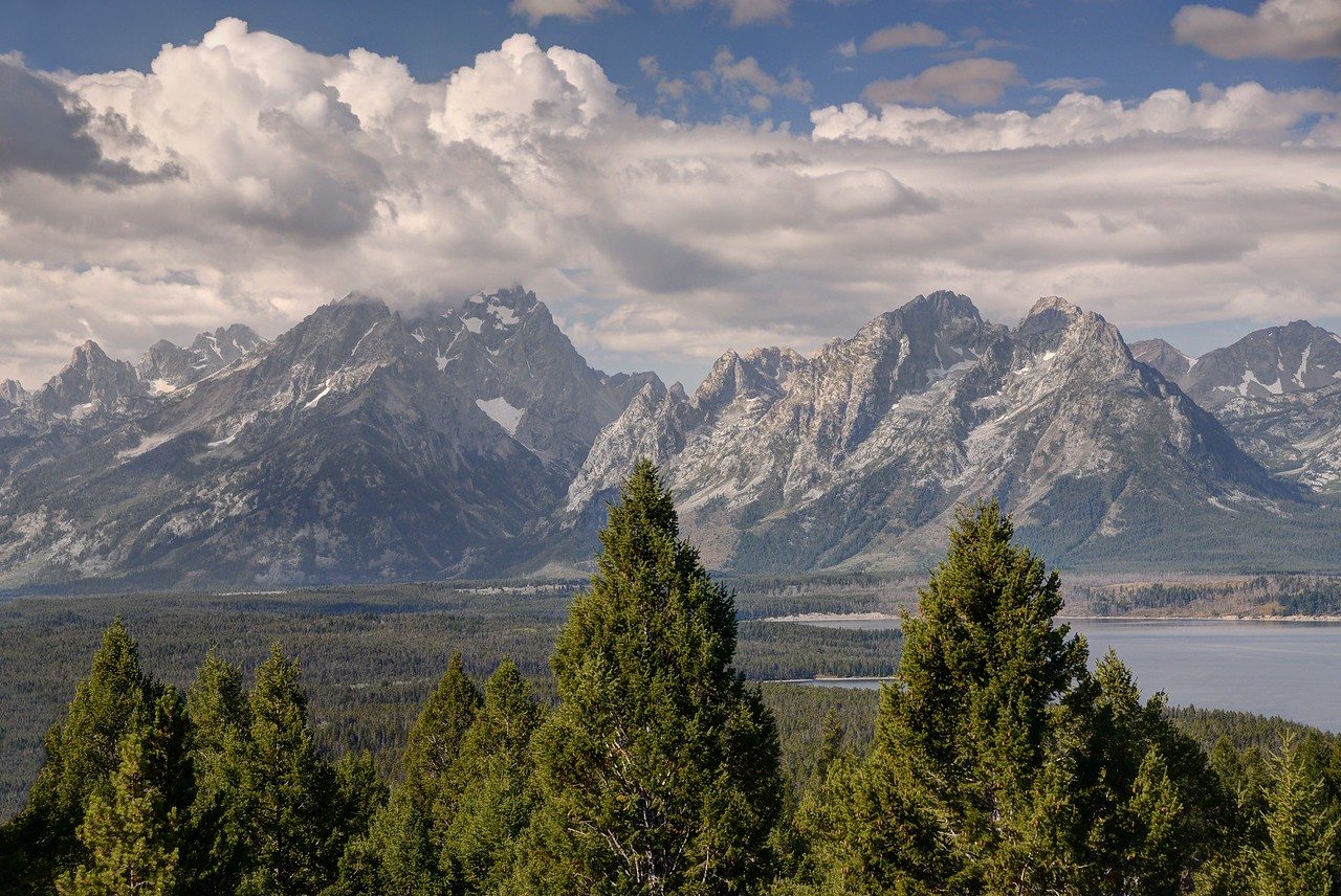 Tetons From Signal Mountain