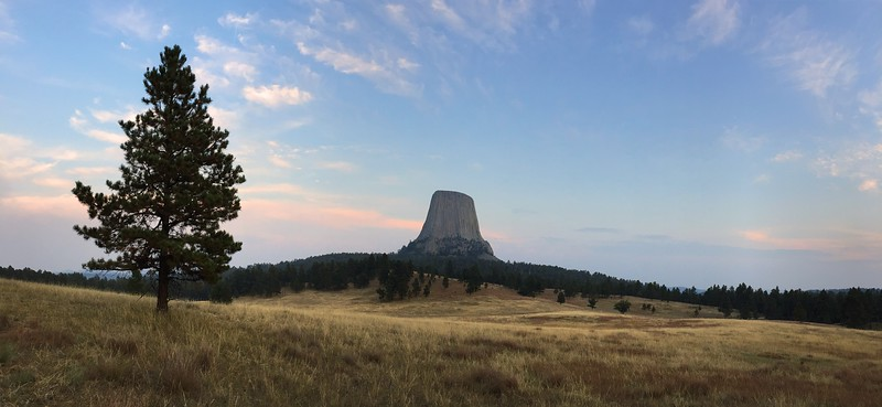 Devils Tower Panarama