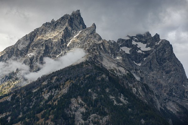 Tetons and Clouds