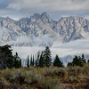 Cloudy Morning in the Tetons