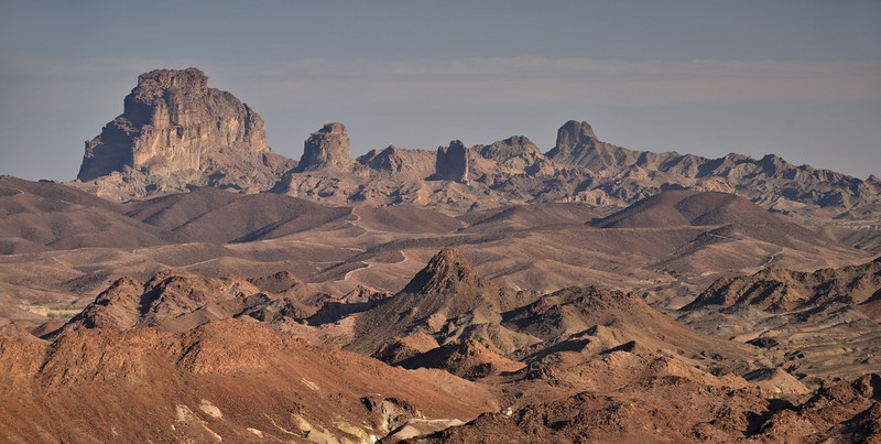 Picacho Peak From the Indian Pass Wilderness