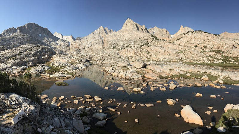 Reflections in the Granite Basin