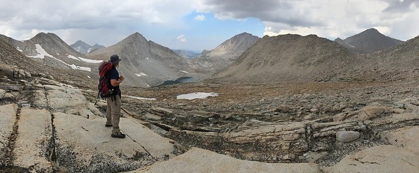Italy Pass Looking to the North (Jumble Lake)
